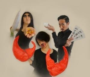 Predstava japonske umetniške skupine Maki-fun temelji na dveh japonskih pravljicah.