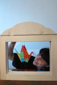 Pisana ptica, kamišibaj predstave za otroke od 3. leta dalje