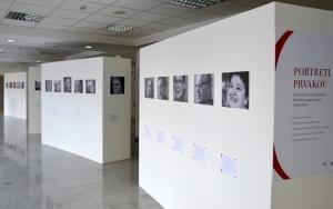 Razstava Portreti prvakov - prejemnice in prejemniki Borštnikovega prstana (1970 - 2015)